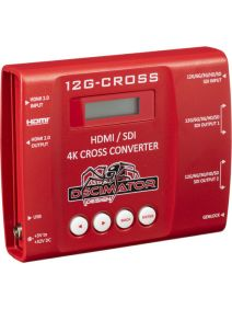 Decimator 12G-CROSS HDMI / SDI 4K Cross Converter with Scaling and Frame Rate Conversion