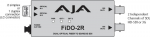 AJA FiDO-2R Dual Channel Fiber to SDI Mini Converter with Power Supply