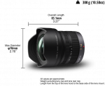 Panasonic Lumix G Vario 7-14mm f/4 ASPH. MFT Lens (Black)