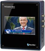 NewTek TriCaster Mini Advanced HD-4 SDI Bundle - includes TriCaster Mini HD-4 sdi (w/ Integrated Display and 2 Internal Drives), Control Surface and Custom Travel Case