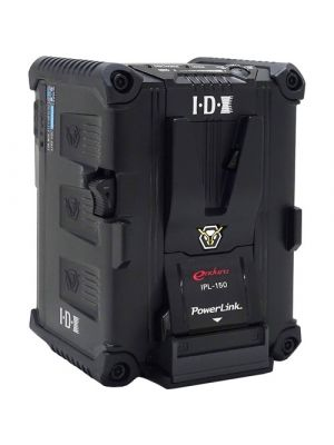 IDX IPL-150 PowerLink 143Wh High Load Li-ion V-Mount Battery with 2x D-Taps & 1x USB output