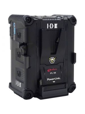 IDX IPL-98 PowerLink 96Wh High Load Li-ion V-Mount Battery with 2x D-Taps & 1x USB output