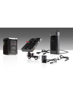 Shape D-Box Camera Power/Charger Kit with 98Wh Battery for Blackmagic Pocket Cinema Camera 4K and Canon 5D/7D