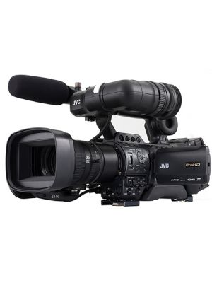 JVC GY-HM850RE Full HD shoulder-mount Streaming  ENG Camcorder with Lens. CCU over IP Ready