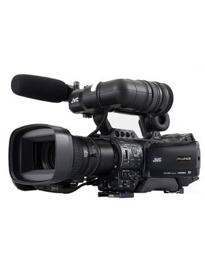 JVC GY-HM890RE Full HD shoulder-mount Streaming ENG/Studio Camcorder with Lens. CCU over IP Ready