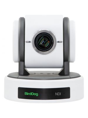 BirdDog Eyes P100 PTZ Camera (White), NDI/SDI Output, 10x Optical