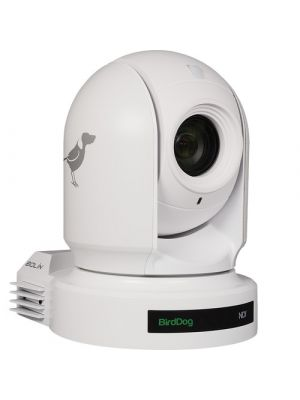 BirdDog Eyes P200 PTZ Camera (White), NDI/SDI/HDMI Output, 30x Optical
