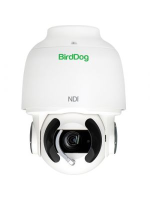 BirdDog Eyes A200 PTZ Camera, NDI/SDI Output, 30x Optical, IP67 Weatherproofing (White)