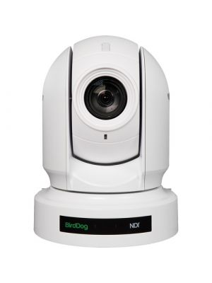 BirdDog P400 4K 10-Bit Full NDI PTZ Camera with Sony Sensor (White)