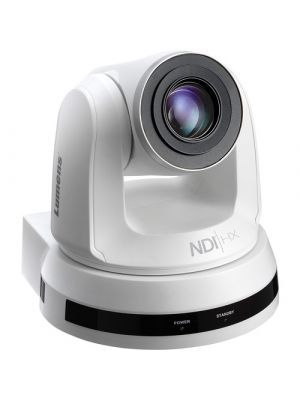 LUMENS VC-A50PNW • PTZ Camera • 20x Optical Zoom • NDI, 3G-SDI, HDMI, IP Output (White)