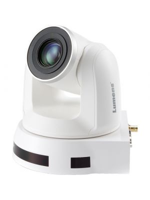 LUMENS VC-A50PW • PTZ Camera • 20x Optical Zoom • 3G-SDI, HDMI, IP Output (White)