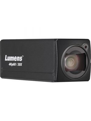 LUMENS VS-BC701P • Block Camera • 30x Optical Zoom • 4k/60 HDMI Output (Black)