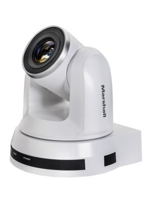 Marshall Electronics  CV620-IP • PTZ Camera • 20x Optical Zoom • 3G/HD-SDI, HDMI, IP Output • Auto-Focus • 4.7-94mm • F1.6-3.5 (White)
