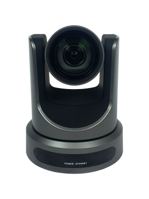PTZOptics PT12X-SDI-GY-G2 • PTZ Camera • 12x Optical • 3G-SDI, HDMI, CVBS, IP Streaming • 1920 x 1080p • 72.5° FOV (Gray)