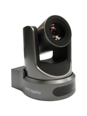 PTZOptics PT20X-NDI-GY • PTZ Camera • 20x Optical • NDI|HX®, 3G-SDI, HDMI, CVBS, IP Streaming • 1920 x 1080p • 60.7° FOV (Gray)