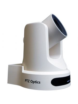 PTZOptics PT20X-USB-WH-G2 • PTZ Camera • 20x Optical • USB 3.0, IP Network RJ45, HDMI, CVBS • 1920 x 1080p • 60.7° FOV (White)
