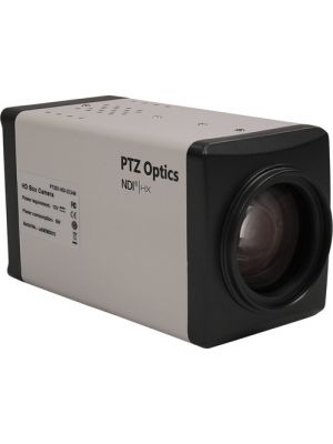 PTZOptics PT20X-NDI-ZCAM • Box Camera • 20x Optical • NDI|HX®, HD-SDI • 1080p • 6.9°-72.5° FOV (White)