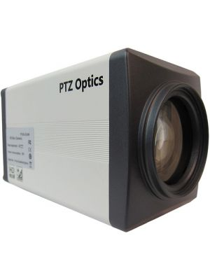 PTZOptics PT20X-ZCAM • Box Camera • 20x Optical • 1080p HD-SDI (White)