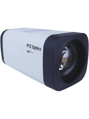 PTZOptics PT12X-NDI-ZCAM • Box Camera • 12x Optical • NDI|HX®, HD-SDI • 1080p • 6.9°-72.5° FOV (White)