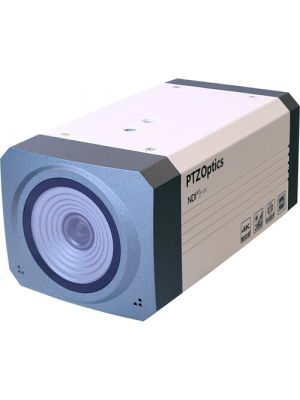 PTZOptics EPTZ NDI-ZCAM-G2 • Box Camera • NDI|HX®, HD-SDI, IP Output • 1920x1080 • 30fps • 100° HFOV (White)