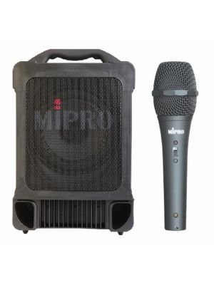 MIPRO MA707PA 100W PA System with Corded Handheld Microphone (No Receiver)