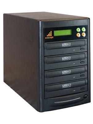 Evocept CopyBlast Premium 3-Drive 16x DVD and 48x CD  Duplicator