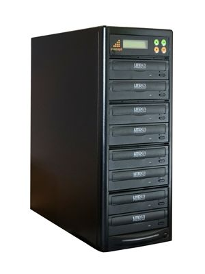 Evocept CopyBlast Premium 7-Drive 16x DVD and 48x CD  Duplicator