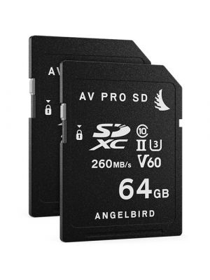 Angelbird 64GB V90 AVpro MK2 SD Cards (2-Pack)