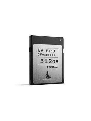 Angelbird 512GB AV Pro CFexpress Type B Memory Card (Singles)