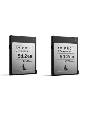 Angelbird 512GB AV Pro CFexpress Type B Memory Card (2-Pack)