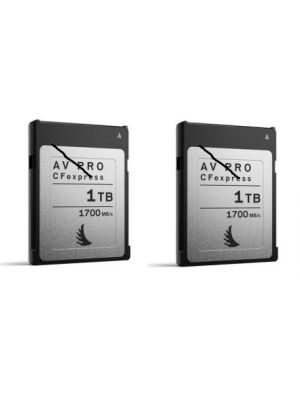 Angelbird 1TB AV Pro CFexpress Type B Memory Card (2-Pack)