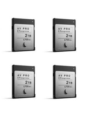 Angelbird 2TB AV Pro CFexpress Type B Memory Card (4-Pack)