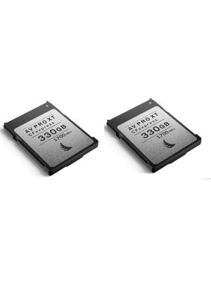 Angelbird 330GB AV Pro CFexpress XT Type B Memory Card (2-Pack)