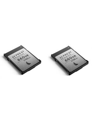 Angelbird 660GB AV Pro CFexpress XT Type B Memory Card (2-Pack)
