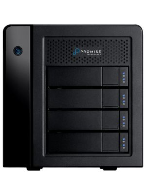 Promise Pegasus3 R4 12TB (4 x 3TB Enterprise HDD) Thunderbolt 3 RAID Storage (Mac Series)