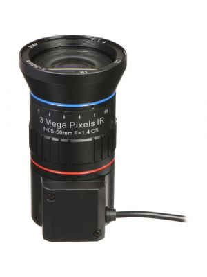 Marshall Electronics 3MP 5-50mm f/1.4 Auto-Iris IR Varifocal CS-Mount Lens (VS-M550-4)