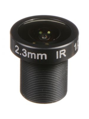 Marshall Electronics 3MP 2.3mm f/2.2 M12 Lens with approx 126° AOV (CV-4702.3-3MP)