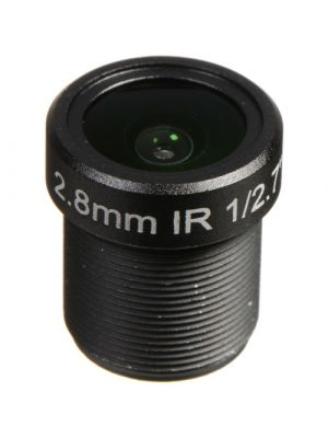 Marshall Electronics 3MP 2.8mm f/2.0 M12 IR Lens with approx 100° AOV (CV-4702.8-3MP-IR)