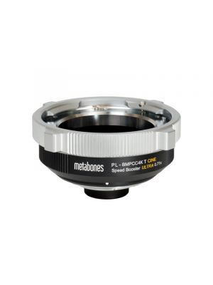 Metabones Speed Booster Adaptor - PL to BMPCC4K T CINE ULTRA 0.71x (Black Matt)