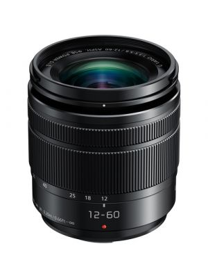 Panasonic Lumix G Vario 12-60mm f/3.5-5.6 ASPH. POWER O.I.S. MFT Lens (Black)