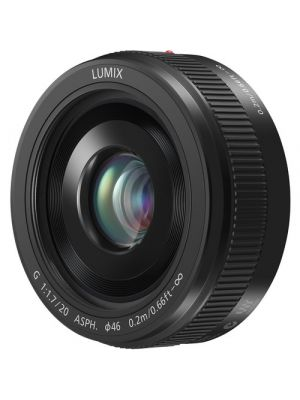 Panasonic Lumix G 20mm f/1.7 II ASPH. MFT Lens (Black)