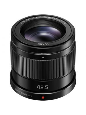 Panasonic Lumix G 42.5mm f/1.7 ASPH. POWER O.I.S. MFT Lens (Black)