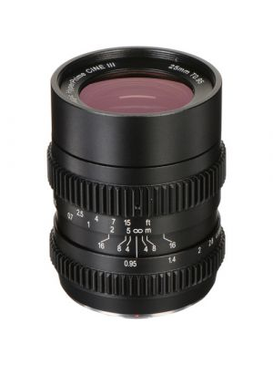 SLR Magic 25mm T0.95 HyperPrime Cine III Lens with MFT Mount