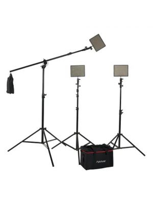 Aputure Amaran LED HR672 CCC Boom Kit (2 x 2m Stands + 1 x Multifunction Boom)