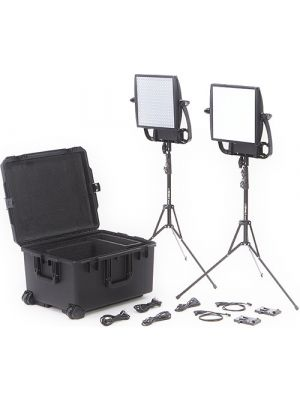 Litepanels Astra Bi-Color LED Traveler Duo 2xLED Panel Kit (V-Mount)