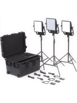 Litepanels Astra Bi-Color LED Traveler Trio 3xLED Panel Kit (V-Mount)