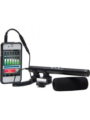 Azden SGM-990+i Shotgun Microphone for Cameras and Mobile Devices