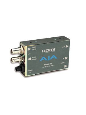 AJA Hi5 HD/SD-SDI to HDMI Video and Audio Converter with Power Supply