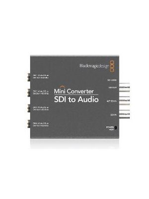 Blackmagic Mini Converter: SDI to Audio