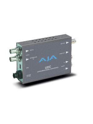 AJA UDC 10-bit Up/Down/Cross Mini-Converter with Power Supply